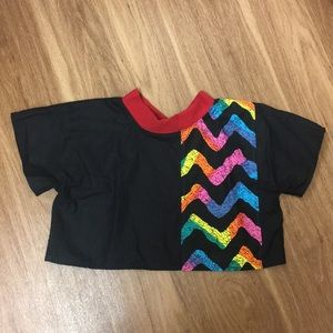 Very retro vintage 80's color pop shirt